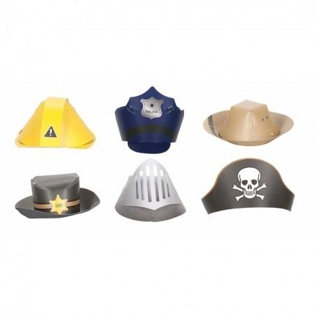 Mini Party-Hüte Boys