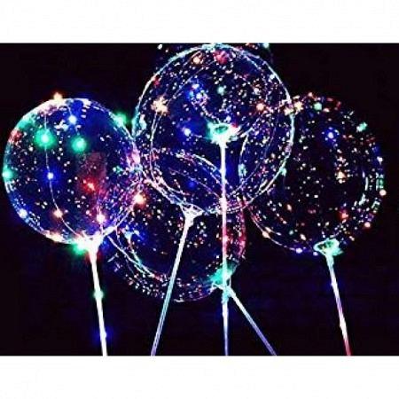 LED Ballons Magic XXL warmweiss oder bunt, ungefüllt