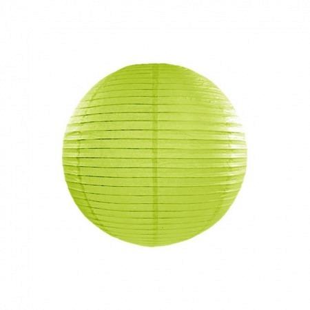 Lampion Apfelgrün 25 cm