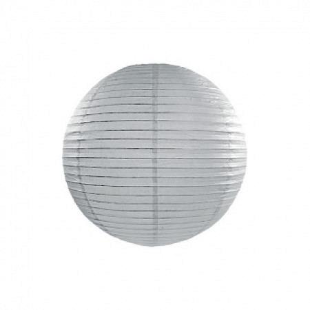 Lampion Grau 35 cm