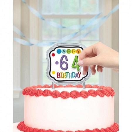 Cake Topper Kuchendeko Happy Birthday personalisierbar