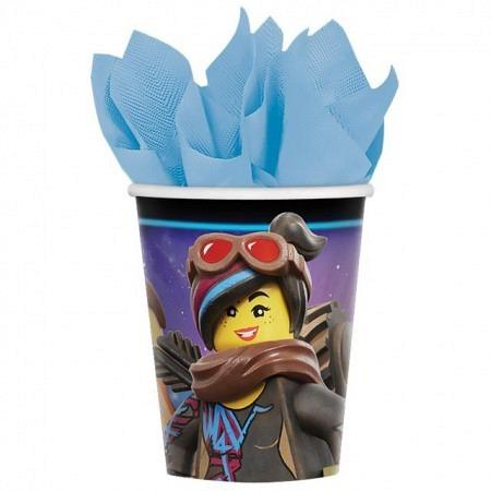 Lego Movie-2 Partybecher 8 Stück
