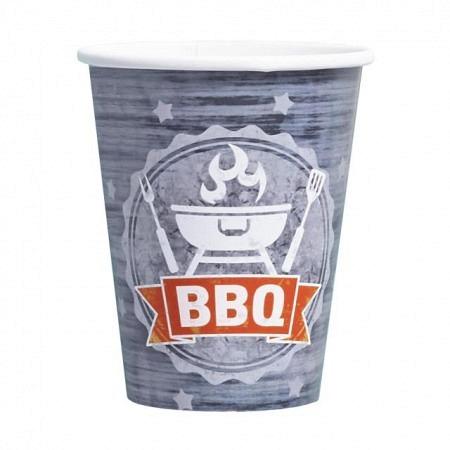 BBQ Grillparty Partybecher 8 Stück