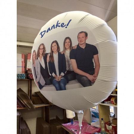 Foto Geschenkballon personalisierbar Team