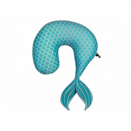 Nackenkissen Meerjungfrau für die lange Reise