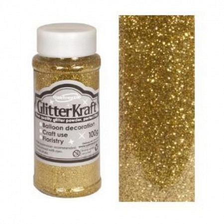 Glitter Metallic Gold 100 Gramm