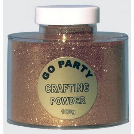 Glitter Metallic Gold-Gelb 100 Gramm