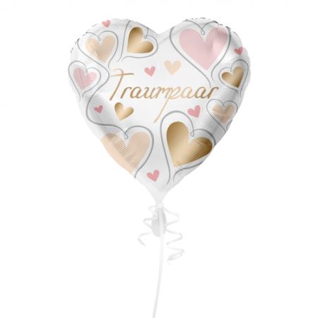 Traumpaar Geschenkballon Maxi-Herz