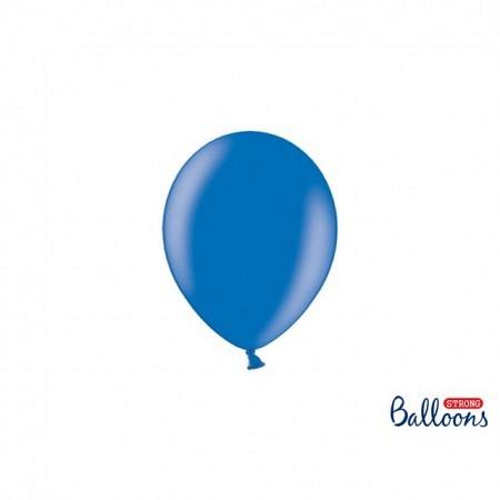 Metallic Öko-Ballons Blau 13 cm - 100 Stück