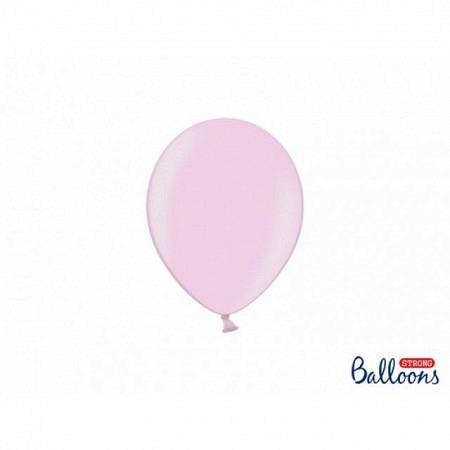 Metallic Öko Ballons Candy Pink 13 cm - 100 Stück