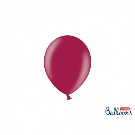Metallic Öko Ballons Kastanie 13 cm - 100 Stück