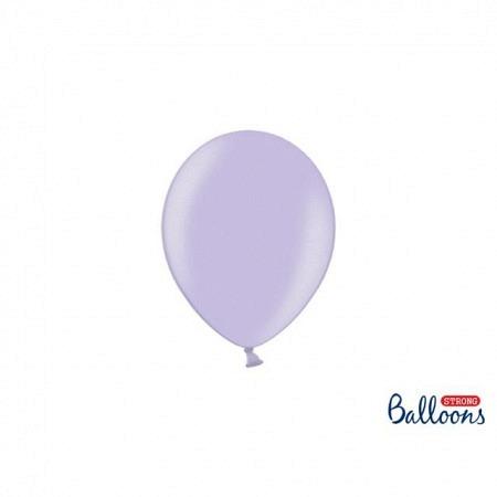 Metallic Öko-Ballons Lavendel 13 cm - 100 Stück
