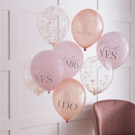 Hen Party Slogan Ballons - 8 Stück