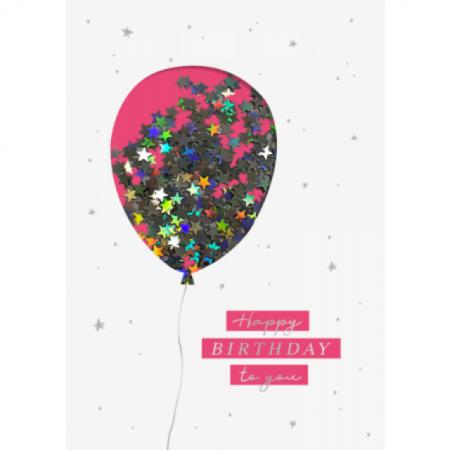 Geburtstagskarte Happy Birthday to you