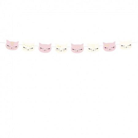 Girlande Katzen