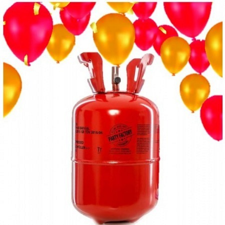 Helium Einwegflasche für 30 Ballons - 200 Liter