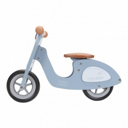 Laufrad / Roller / Vespa blau - Little Dutch