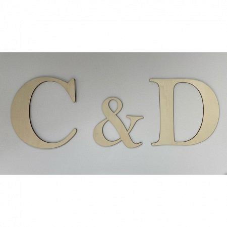 Buchstabengirlande Initialen personalisiert