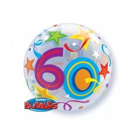 Single Bubble Zahl 60